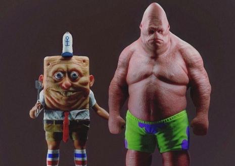 IRL Spongebob and Patrick