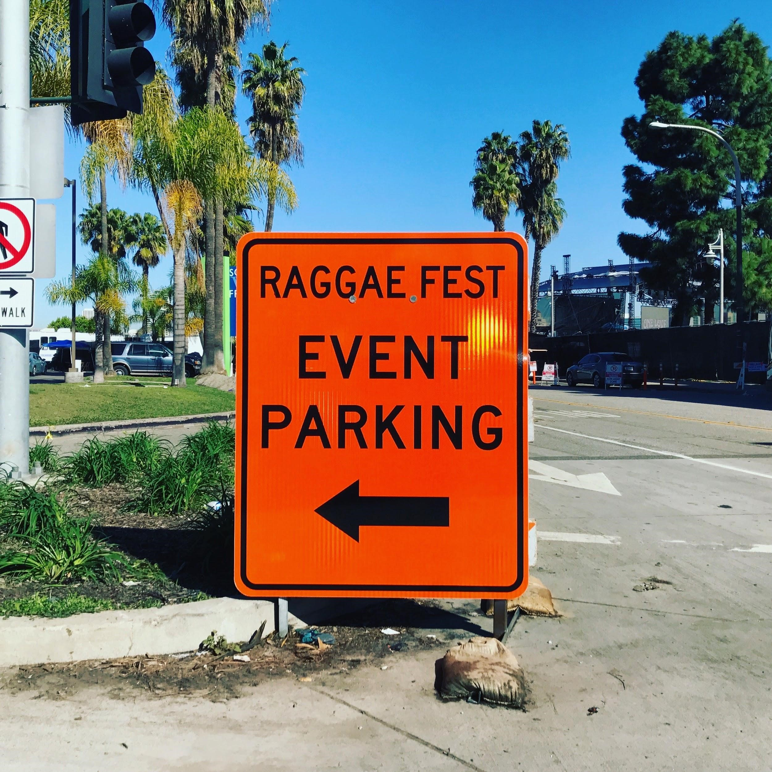 """A Slayer personally took this photo in February. She was not going to a """"raggae"""" fest."""
