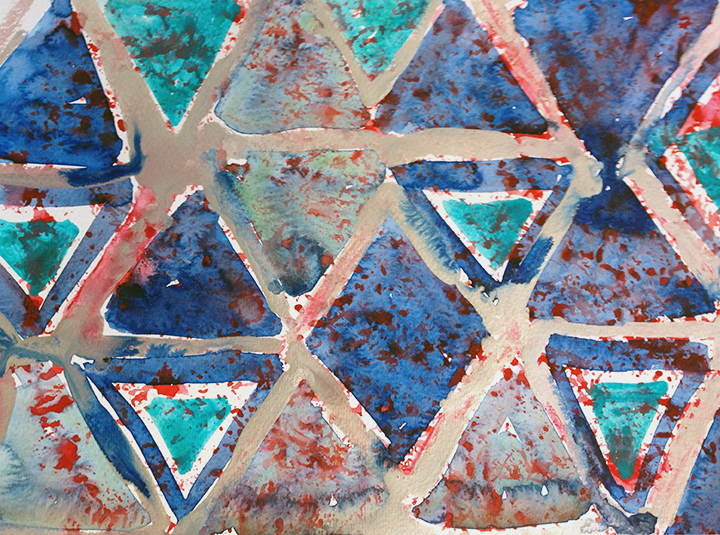 Triangles by Amy Tyson.
