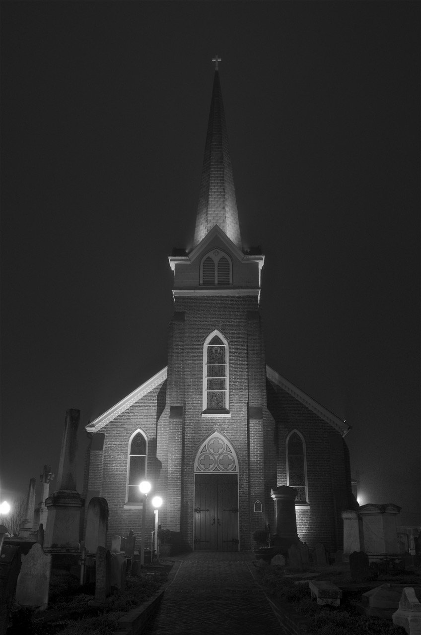 St Peters in Black & White
