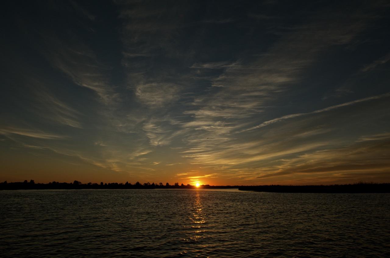 Sunrise over the Broadkill