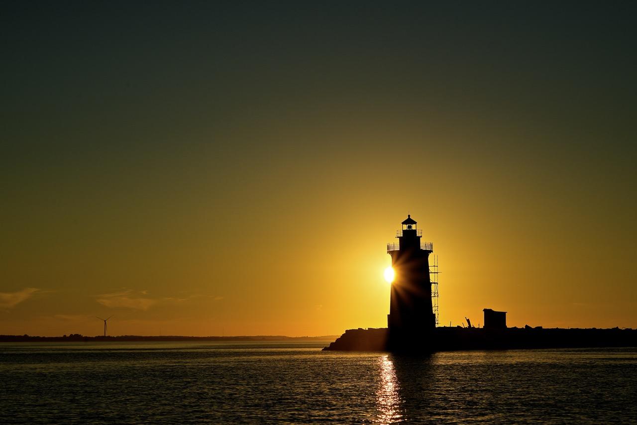 Peaking Around the Lighthouse