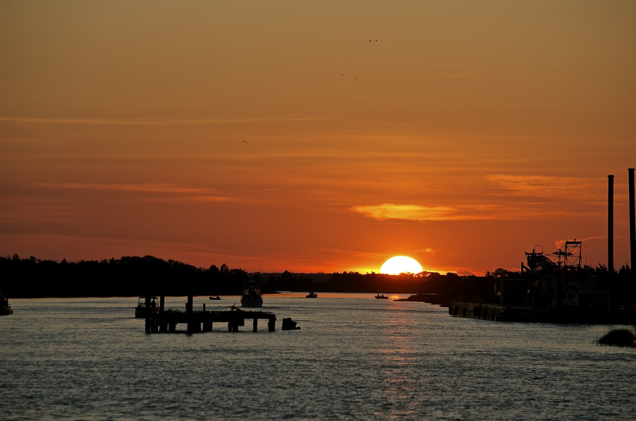 Sunset Over the Broadkill