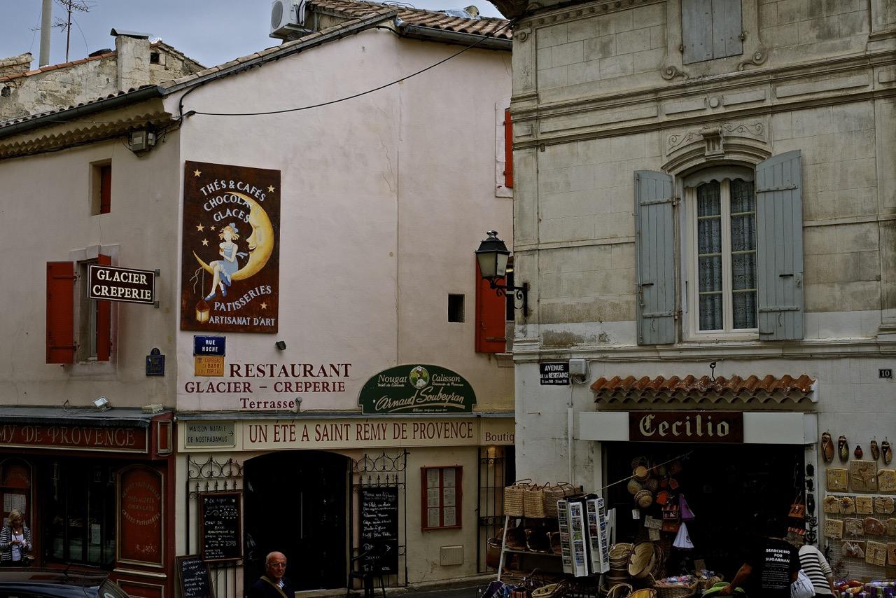 Street Scene of St. Remy