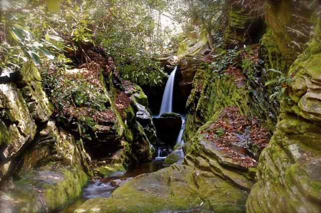 Dugger's Creek Waterfall