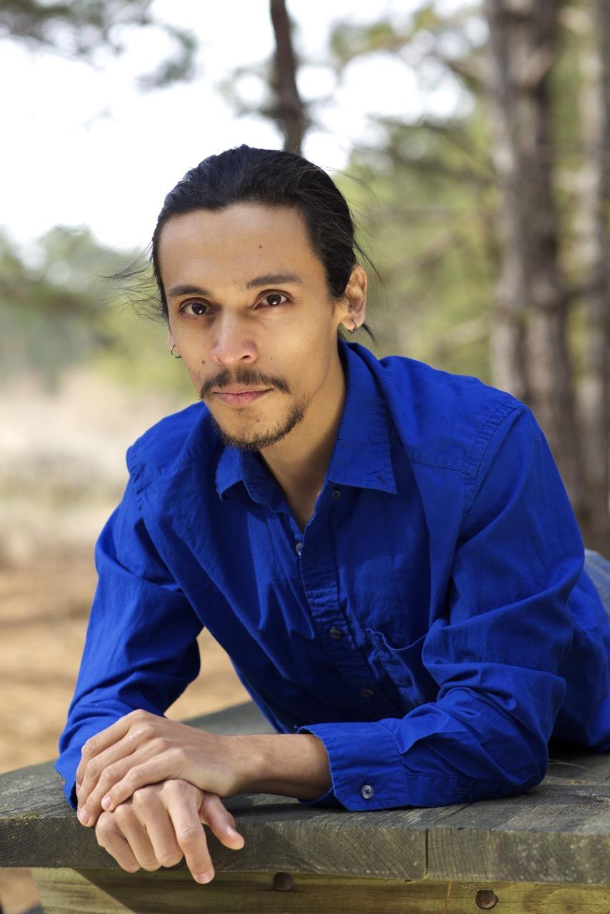 Alejandro in a Blue Shirt