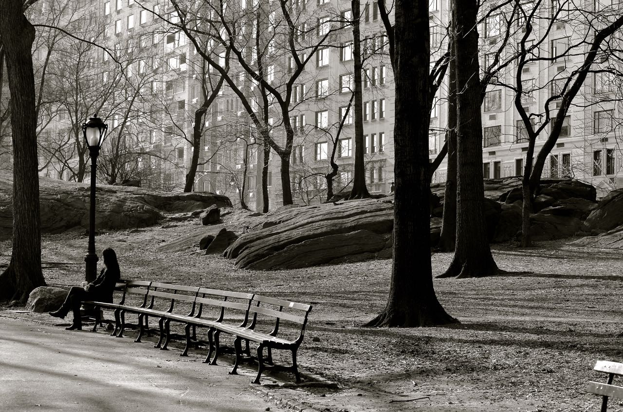 Alone in Central Park