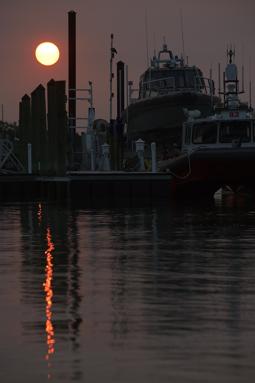 Sunset at the Docks