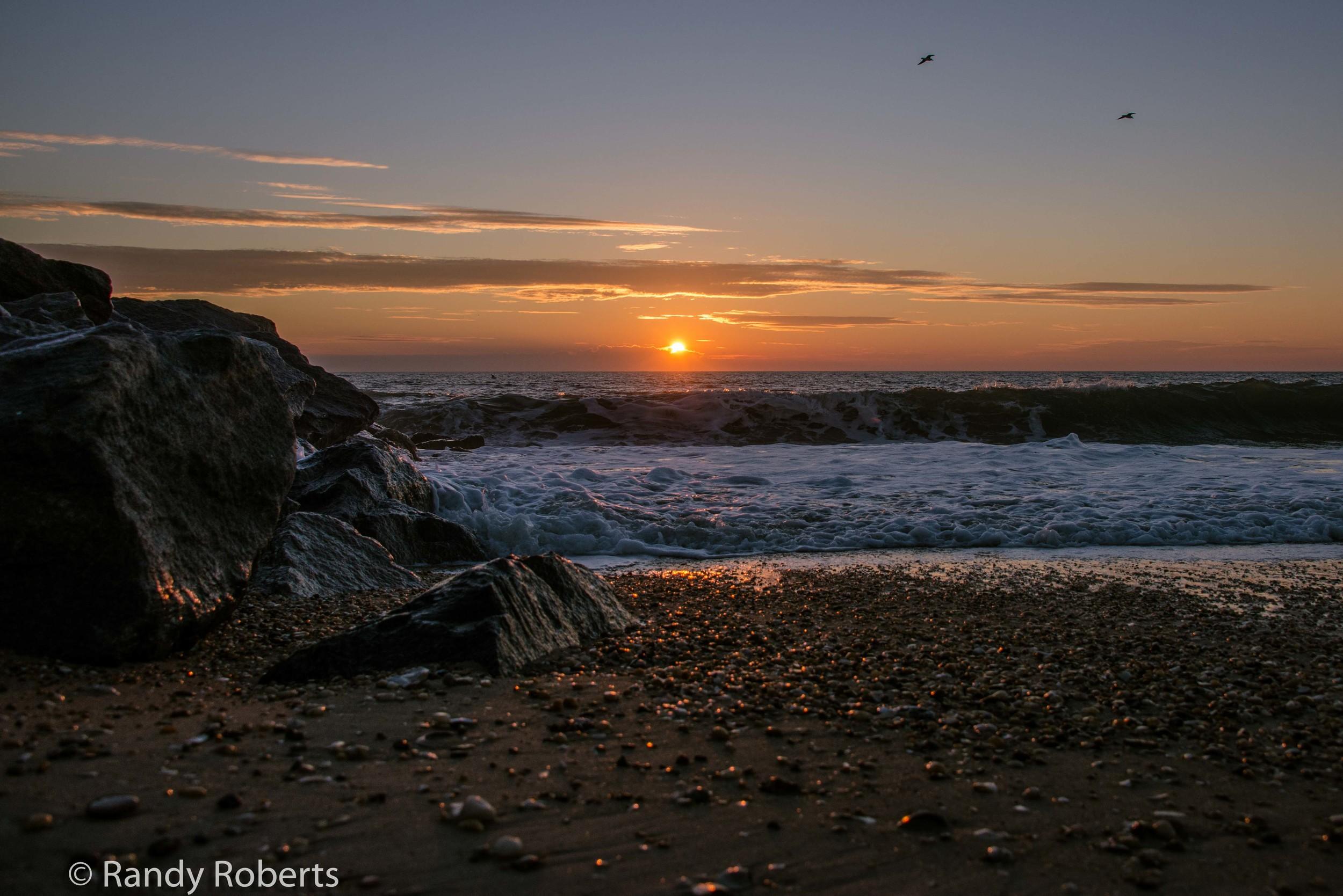 Rocks & Waves of Herring Point