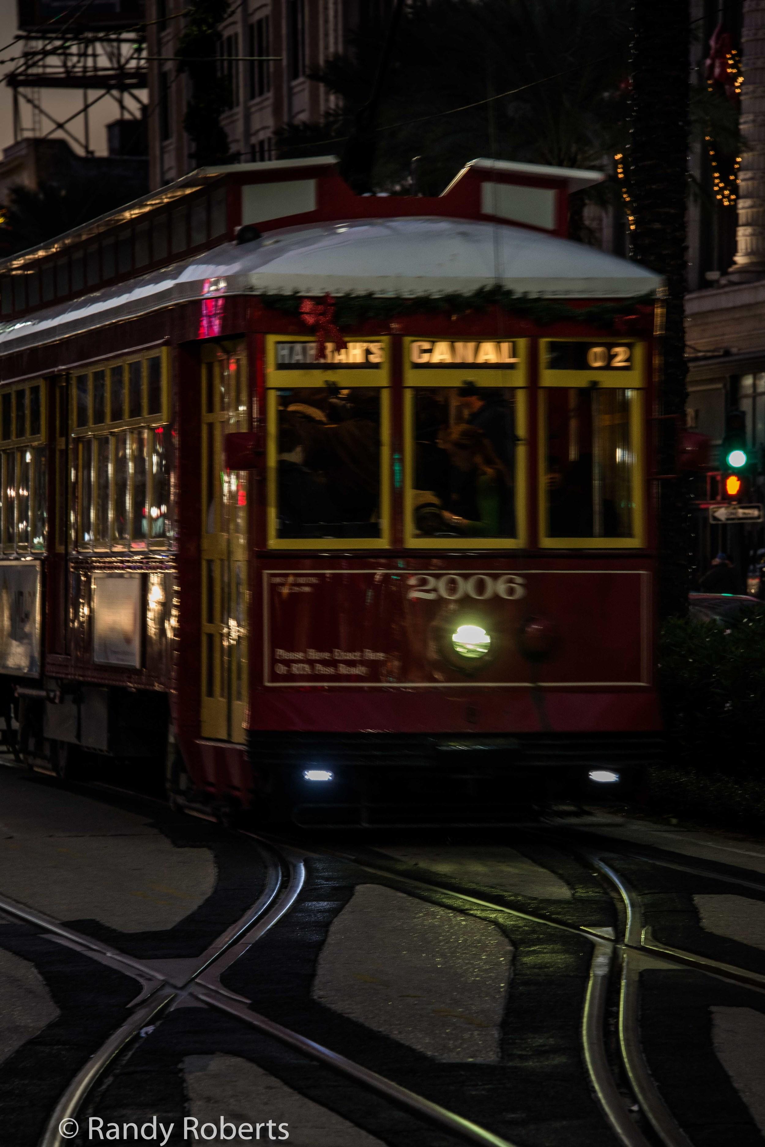 Light on the Tracks