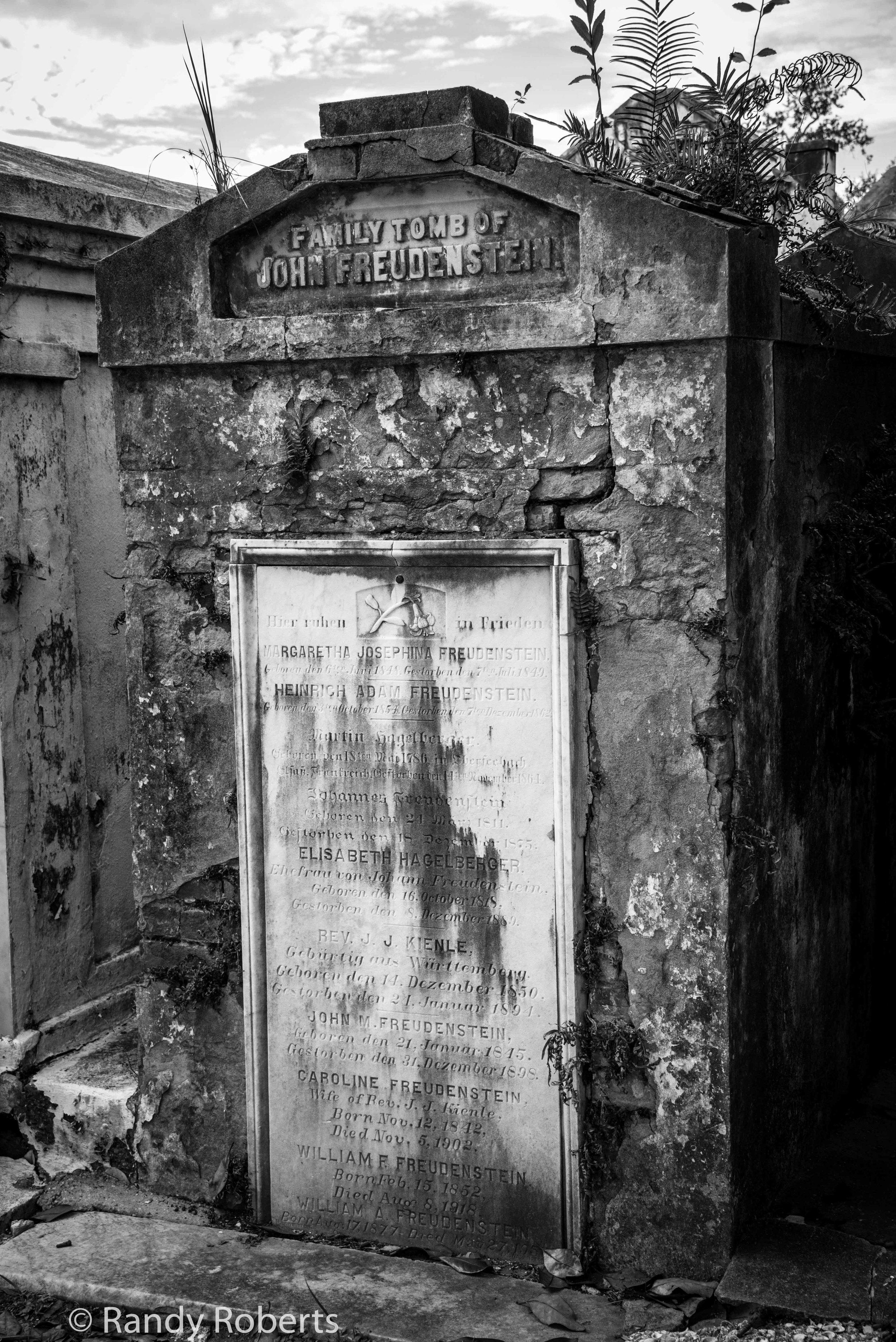 Family Tomb of John Freudenstein