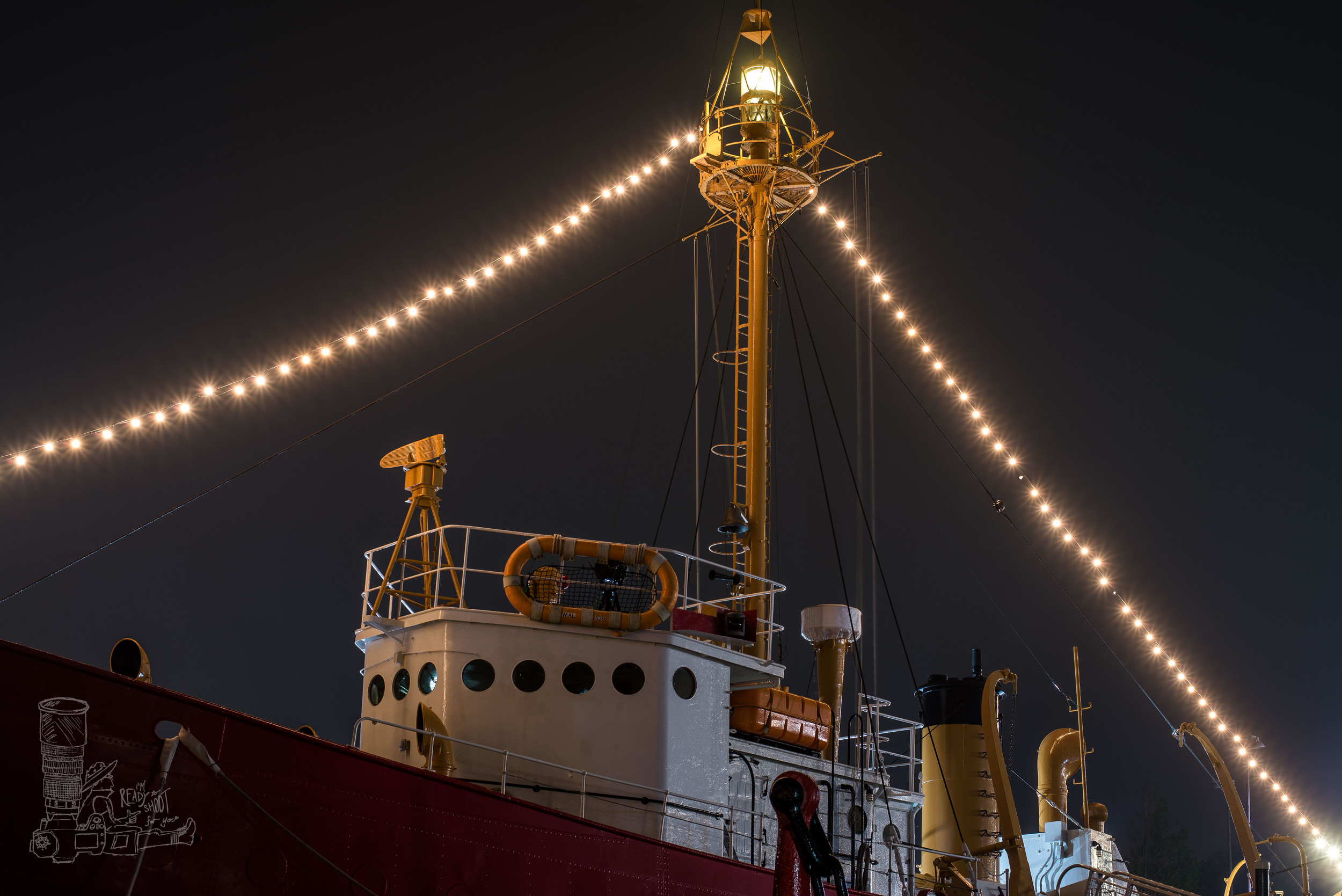 Lightship in the Fog