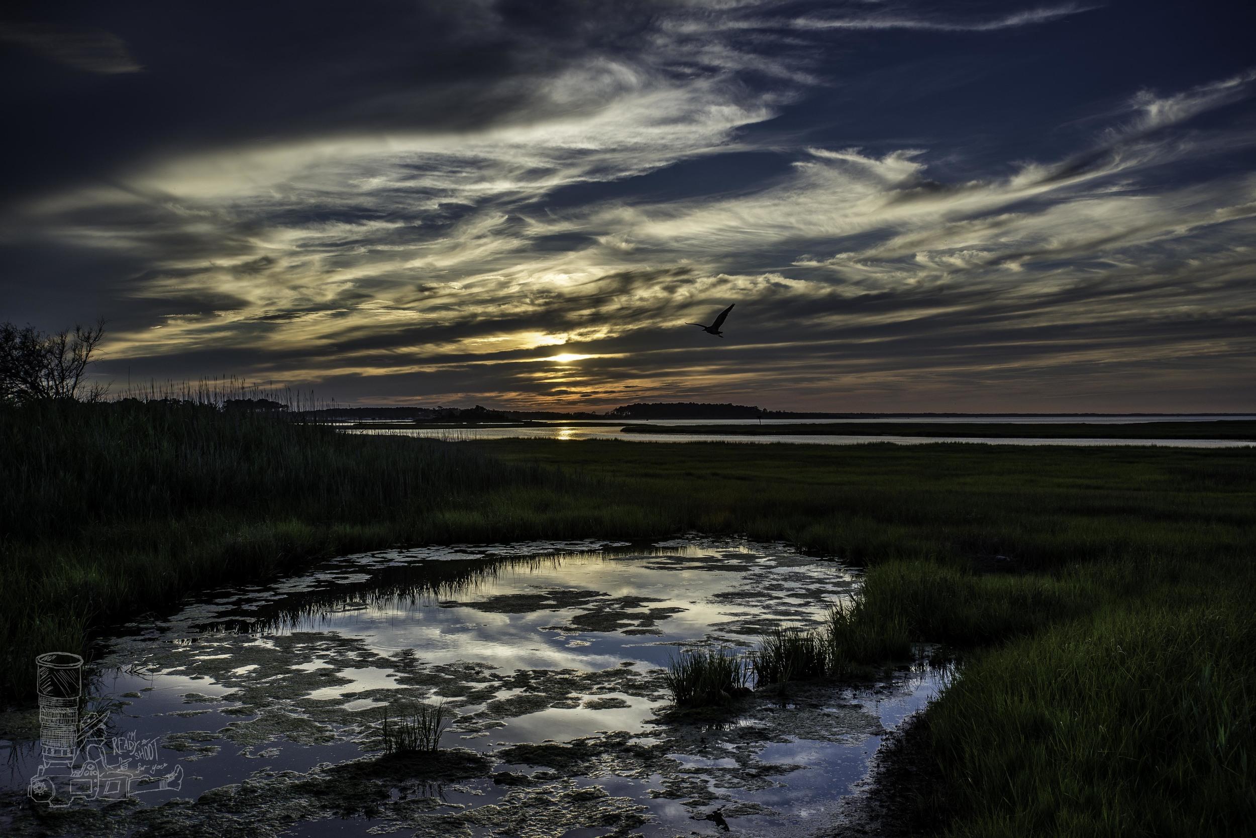 Days End on Burton Island