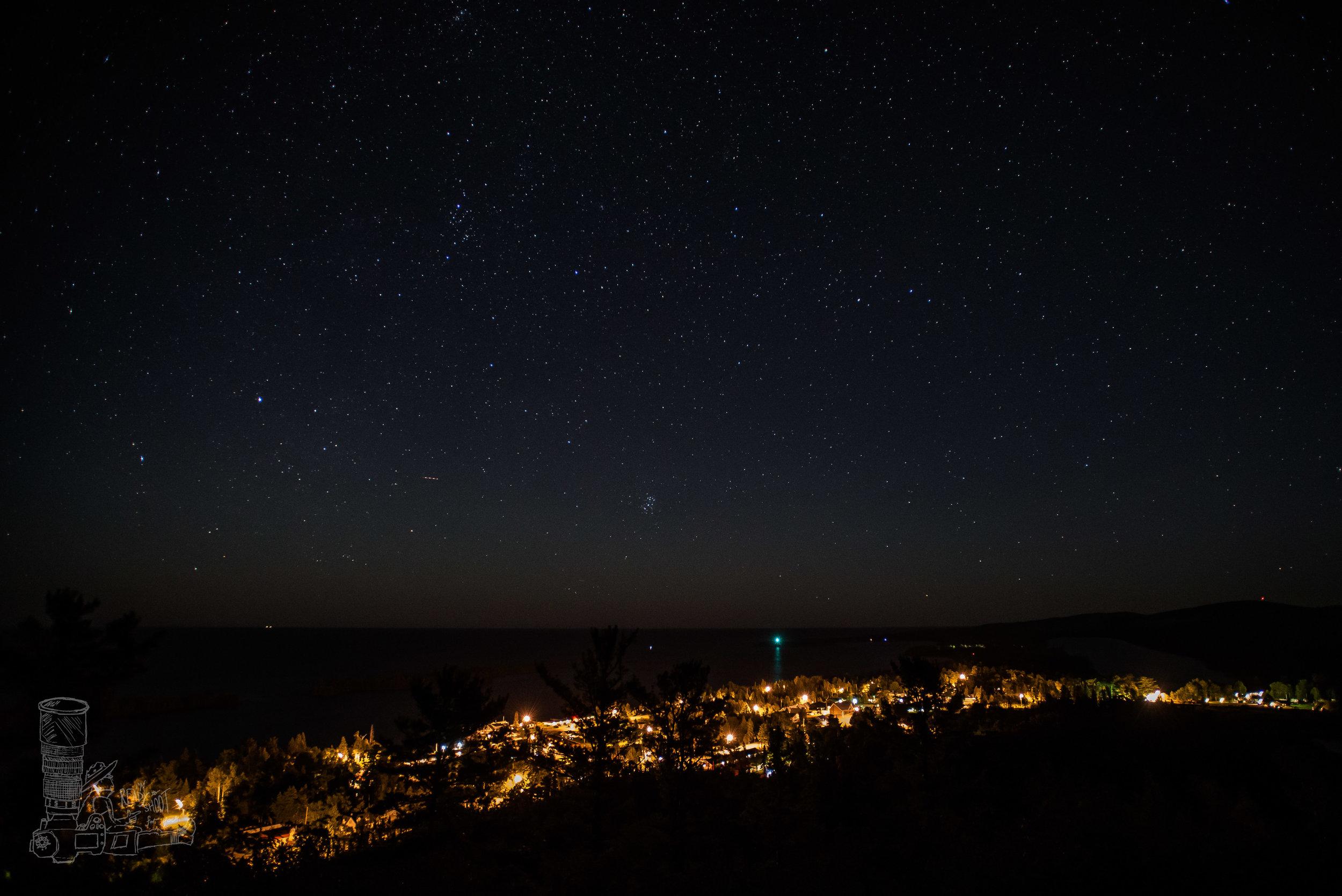 Lights of Copper Harbor