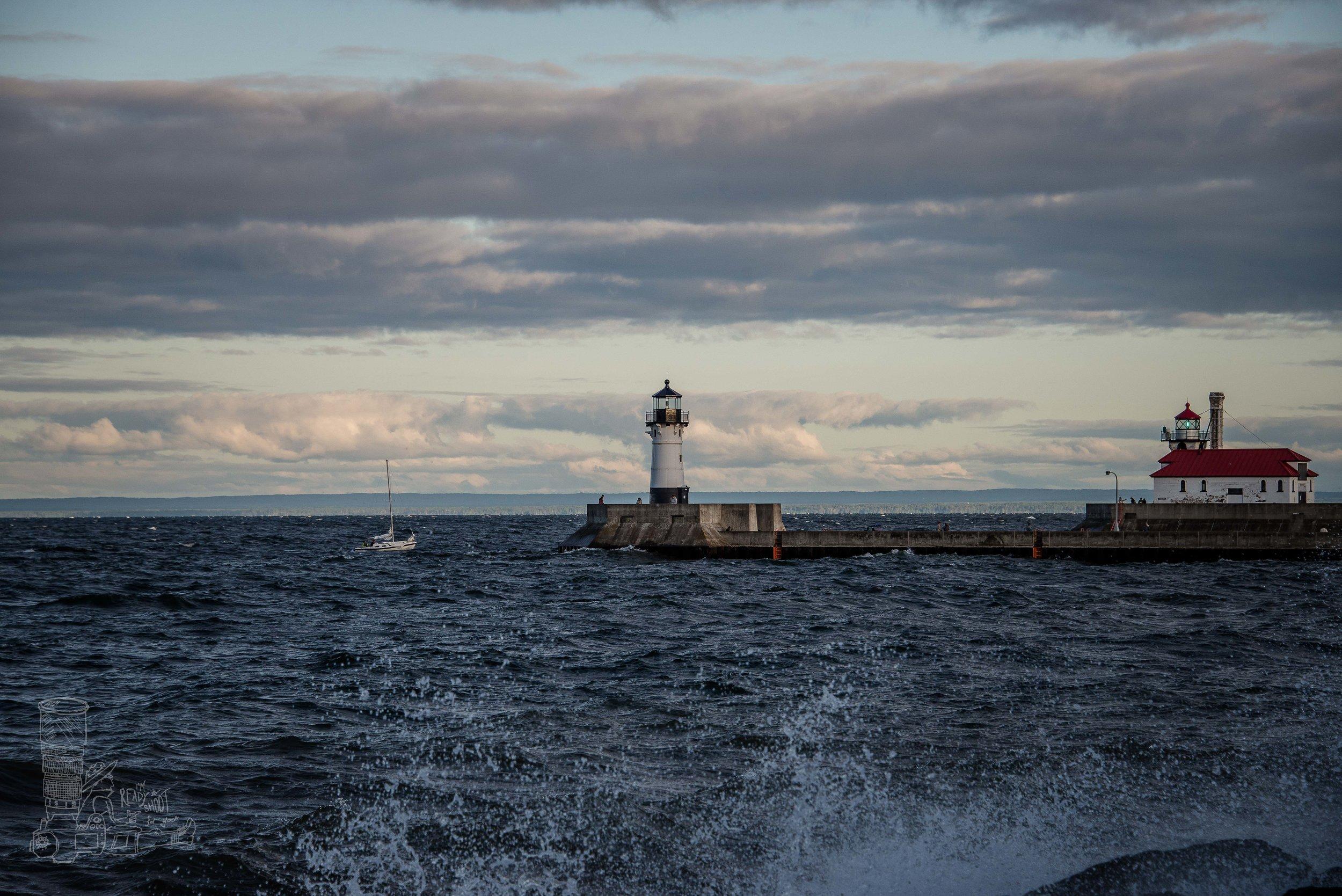 Duluth Harbor Entrance