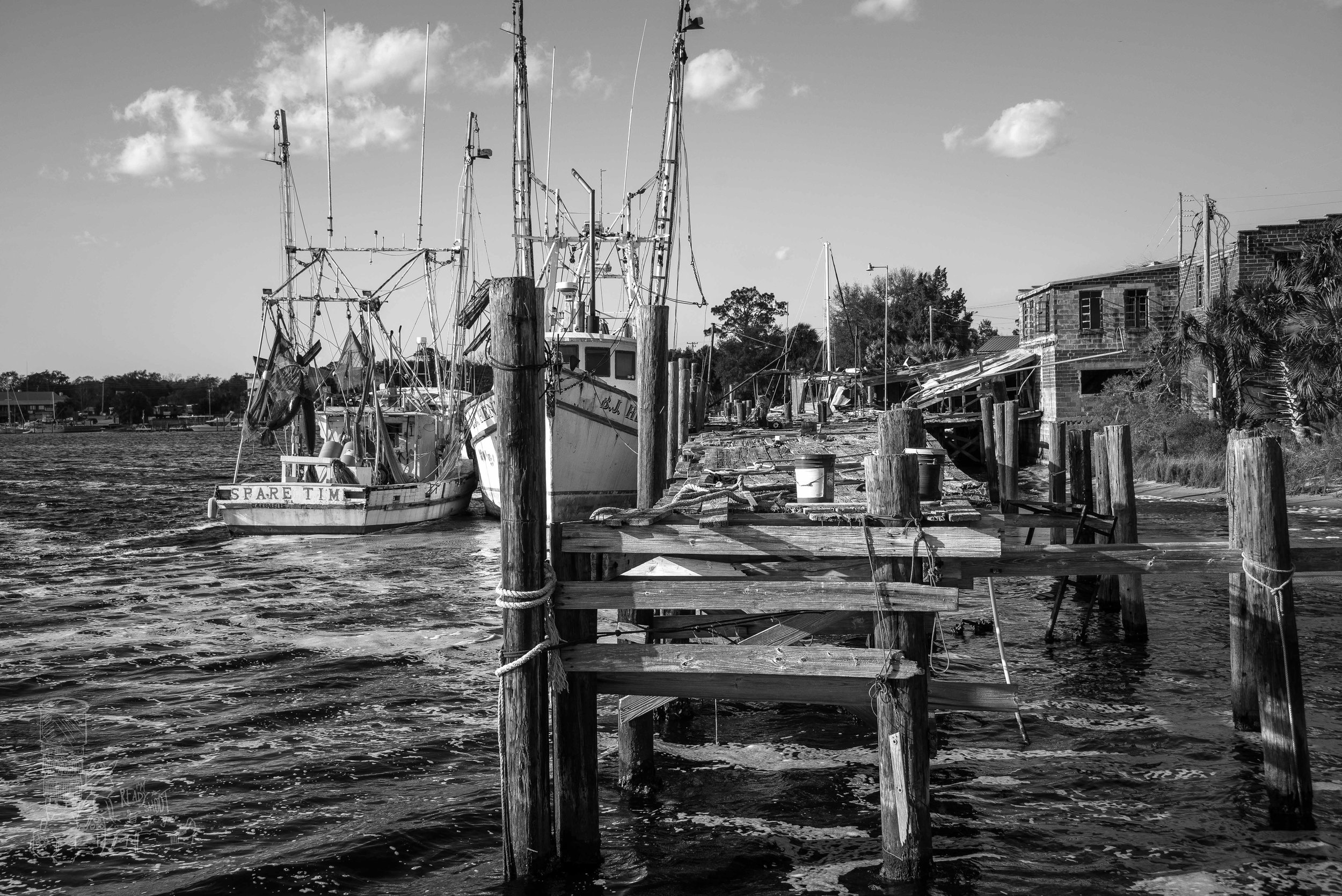 Shrimp Docks of Carrabelle