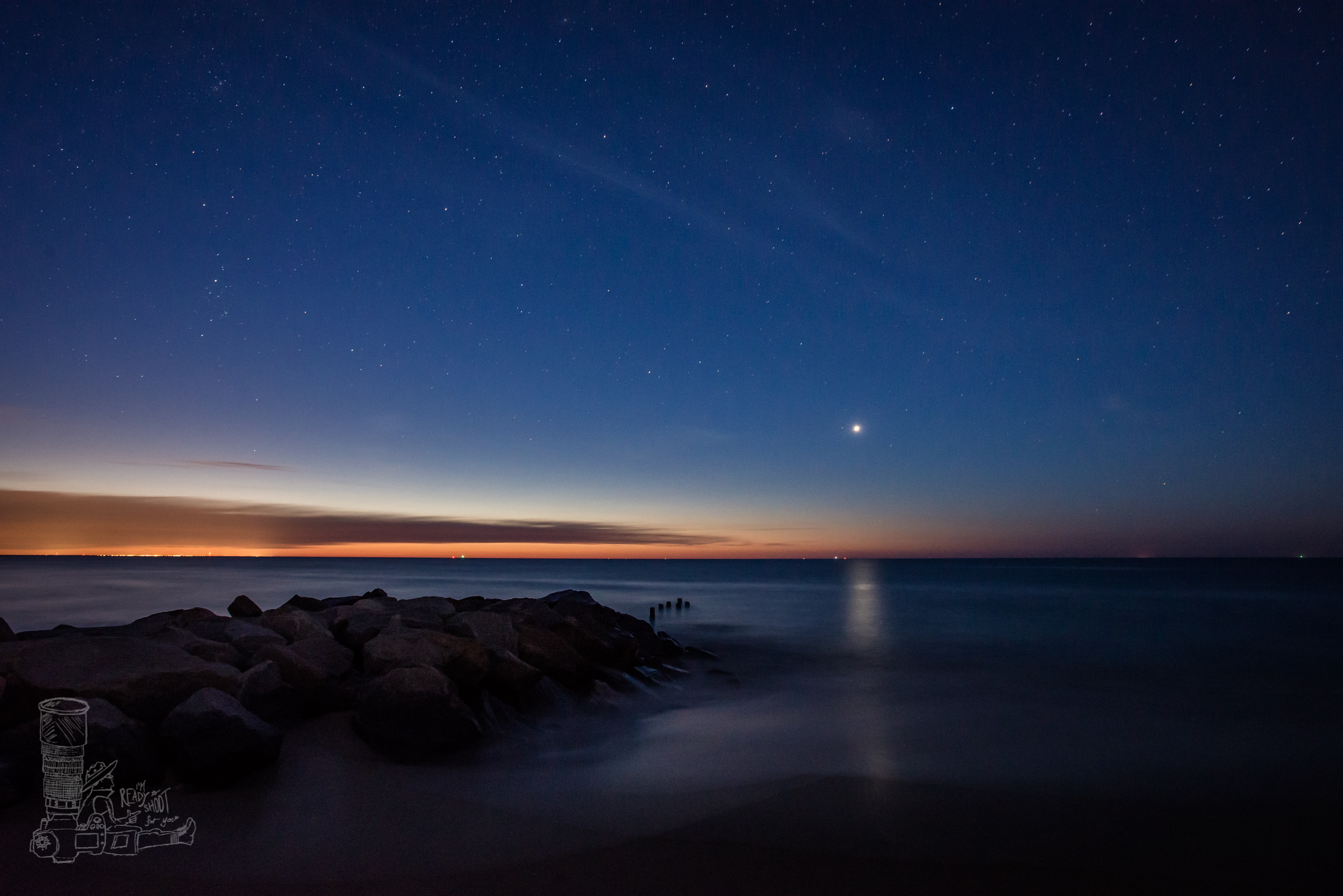 Venus over Herring Point