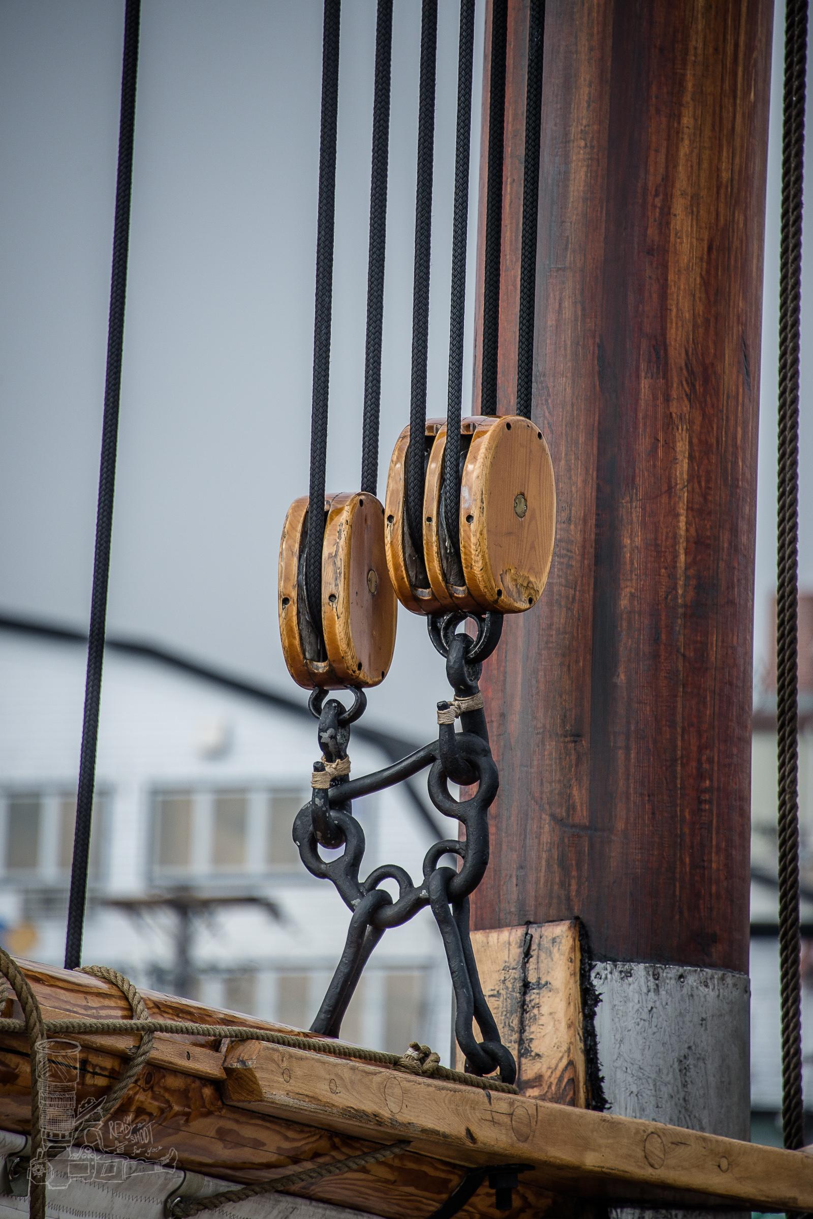 Block & Tackle of the Main Sail