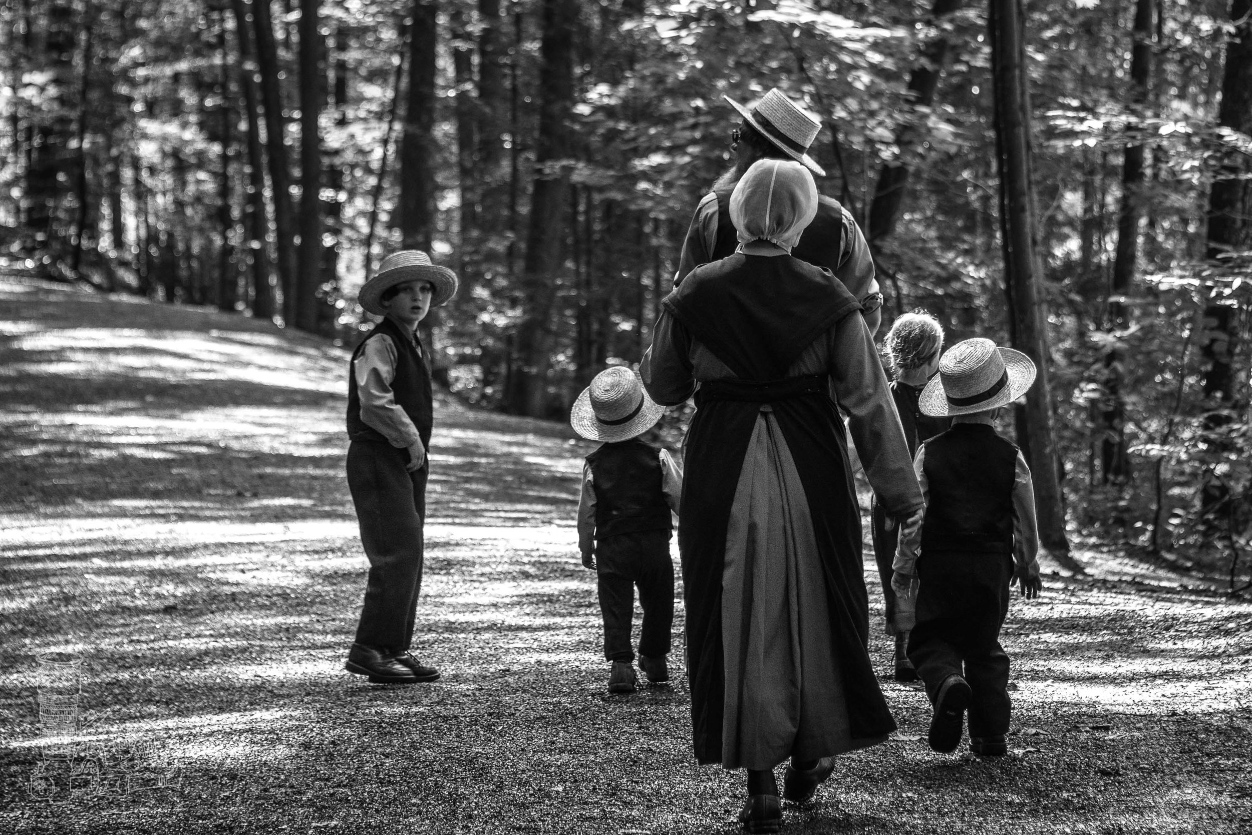 Amish Family Outing