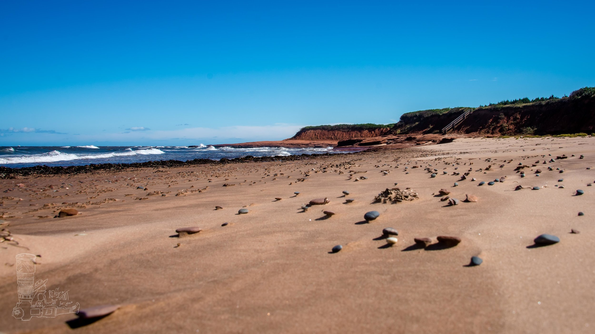 The Red Beaches of PEI