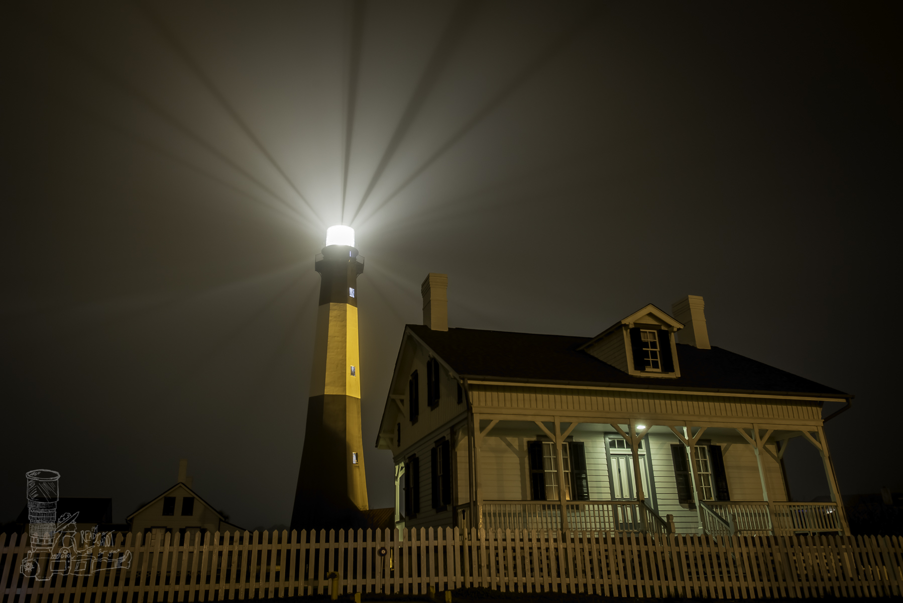 Light Beams of Tybee Island