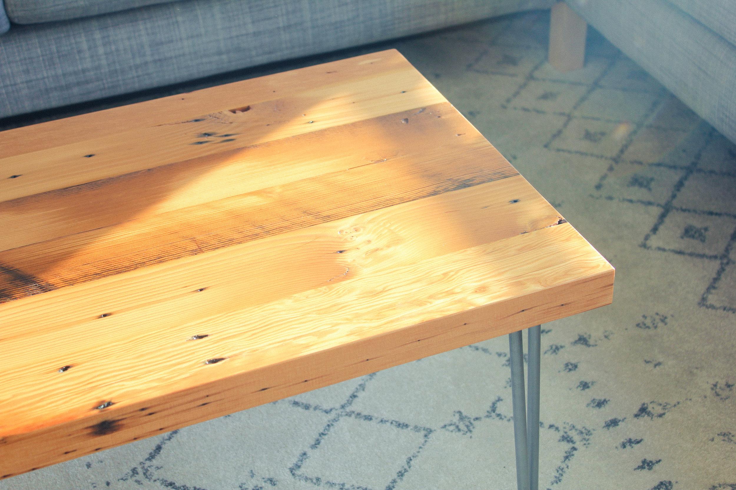 Reclaimed Douglas Fir Coffee Table