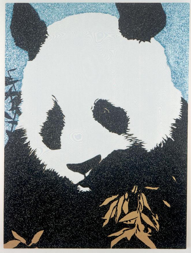 Panda in the style of Piero della Francesca