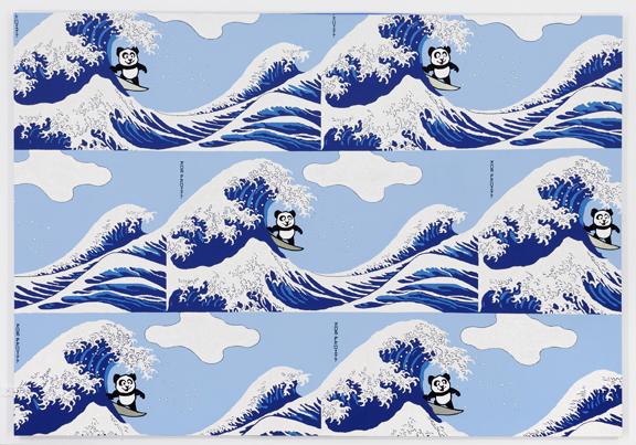 Panda Pattern: Riding The Great Wave