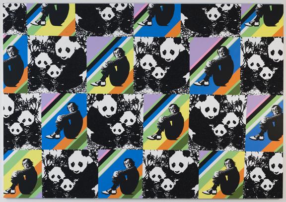 Panda Pattern: Woody Allen
