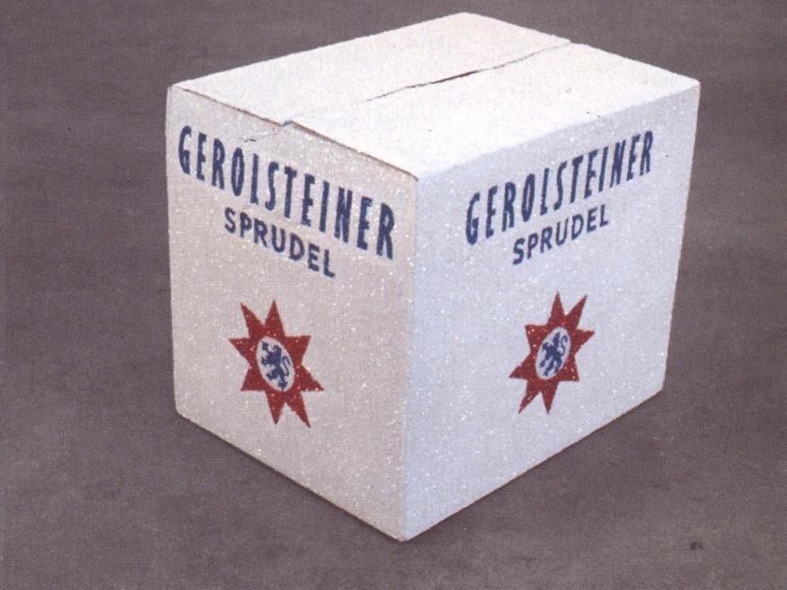 Un Carton de Gerolsteiner