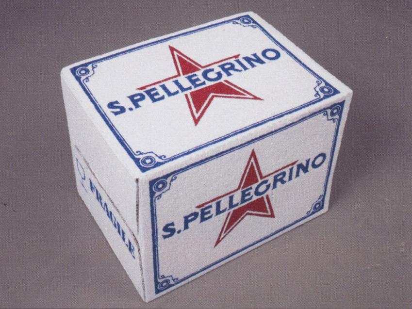 Un Carton de St Pellegrino