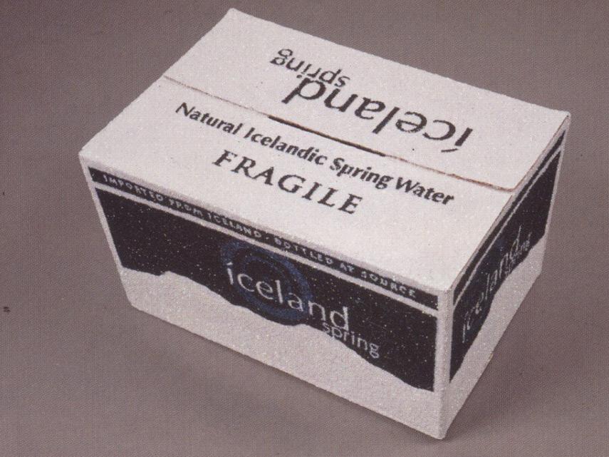 Un Carton de Iceland Springs
