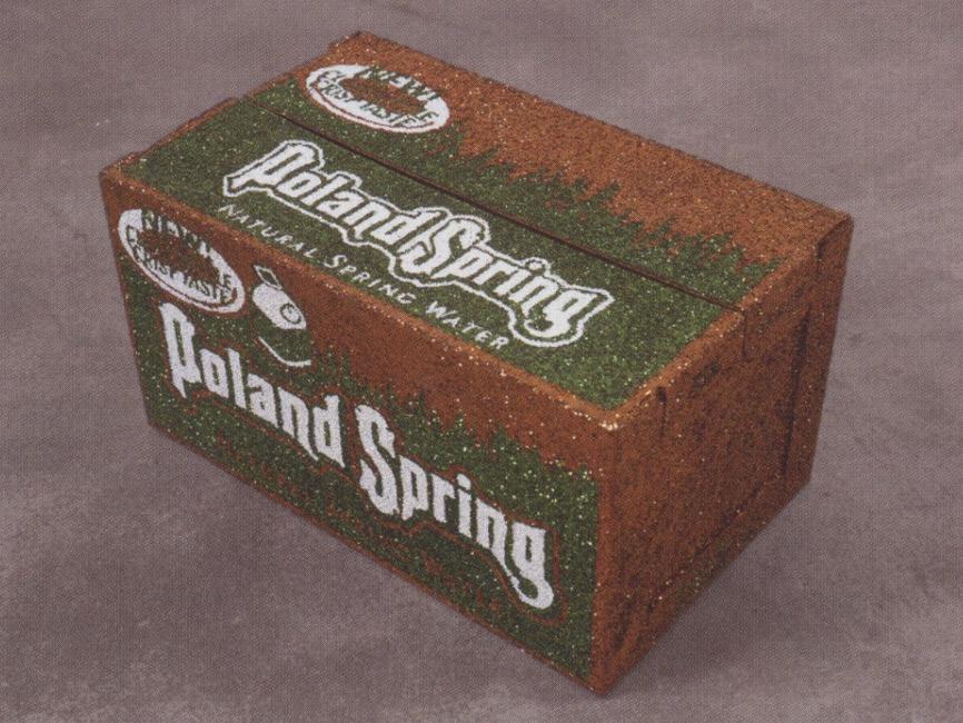 Un Carton de Poland Spring (New Bottle)