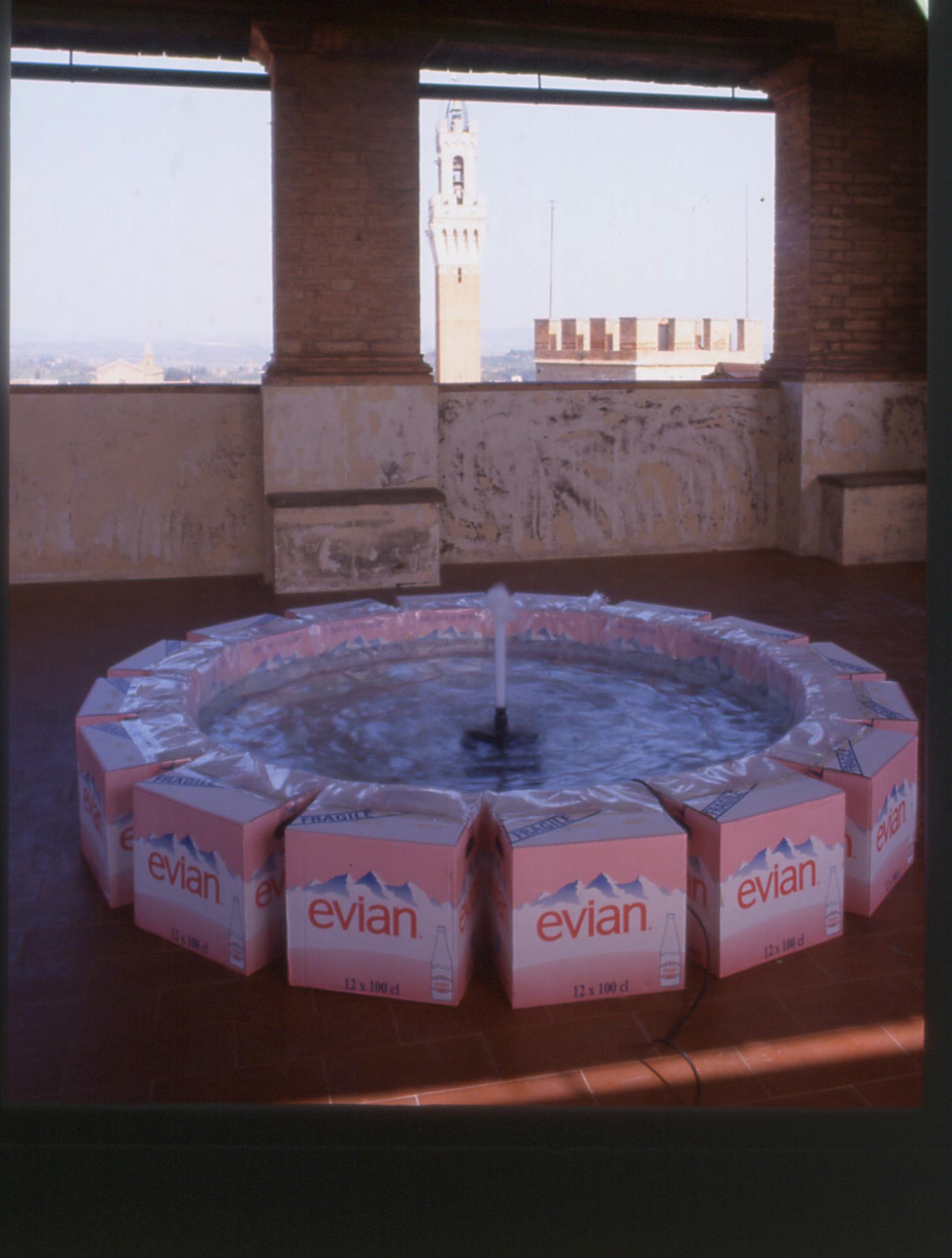 Evian Fountain