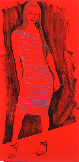 Paris Pose Red