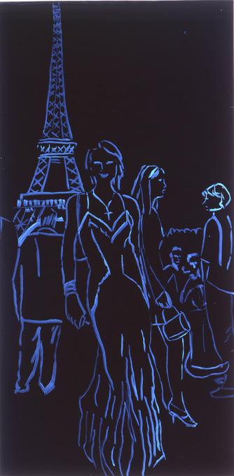 Paris in Paris Black