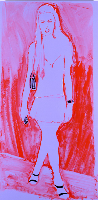 Paris Pose Shocking Orange & Violet