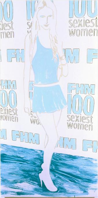 Paris FHM 100 Sexiest Women Party