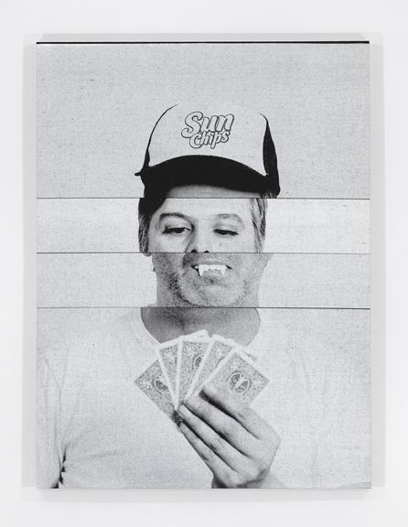 Exquisite Self-Portrait: Poker Face