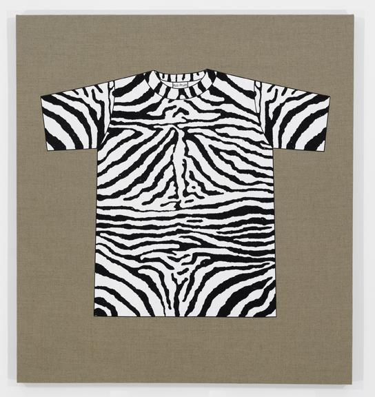 Rob Pruitt's T-Shirt Collection: Zebra