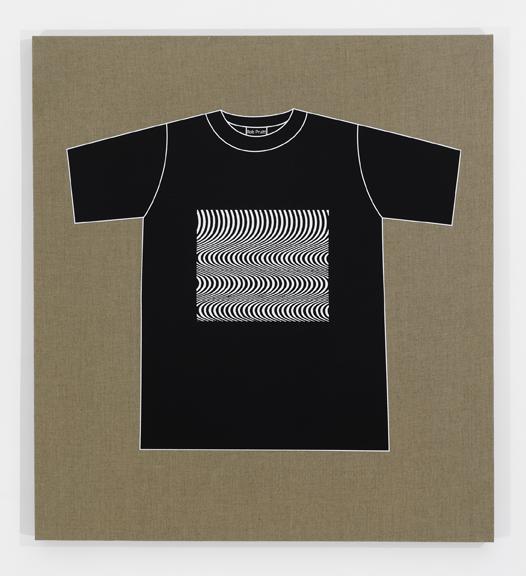 Rob Pruitt's T-Shirt Collection: Bridget Riley