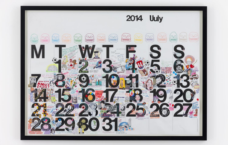Studio Calendar July 2014