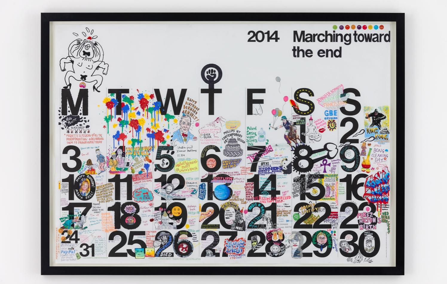 Studio Calendar March 2014