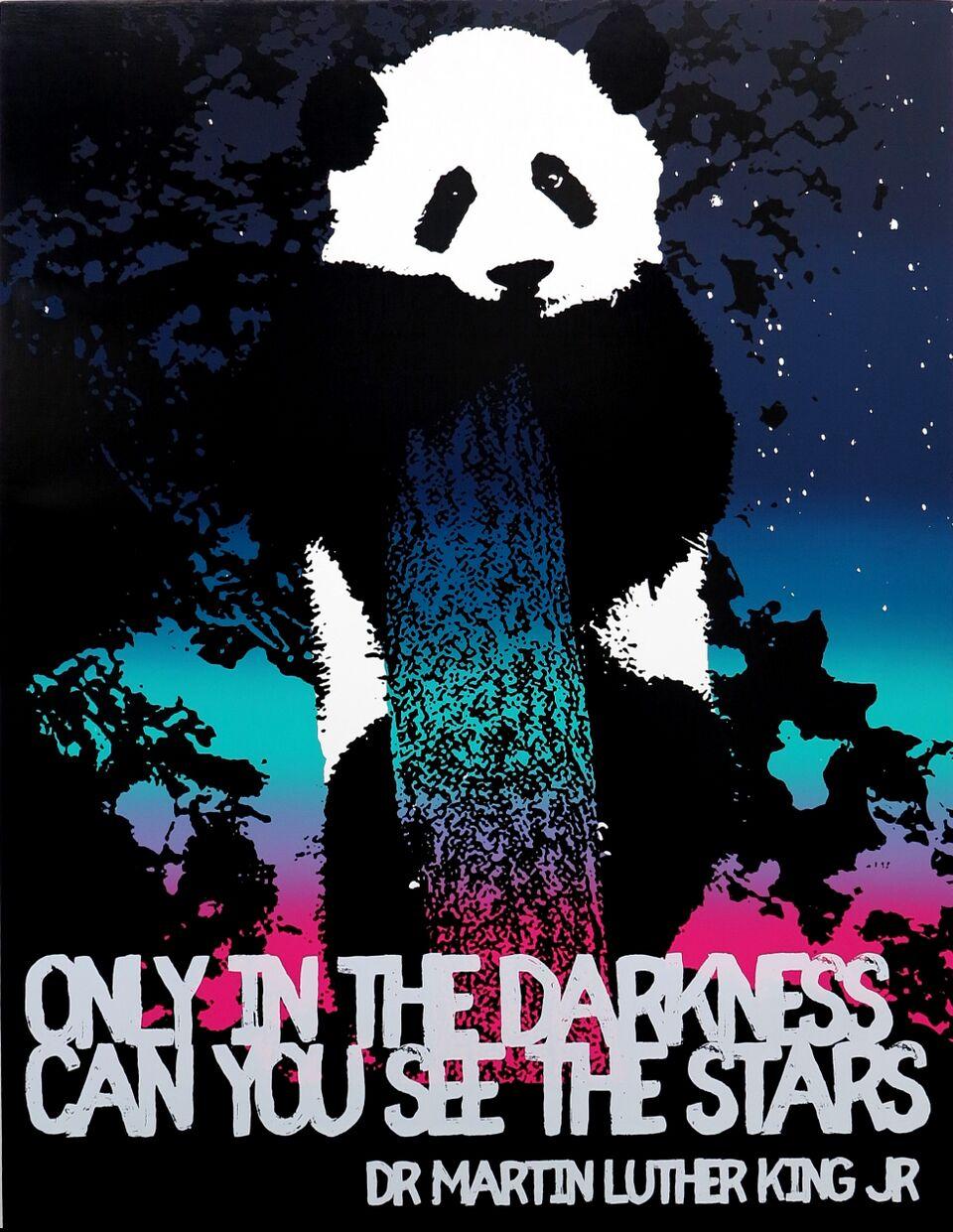 Motivational Panda (Dr. Martin Luther King, Jr.)