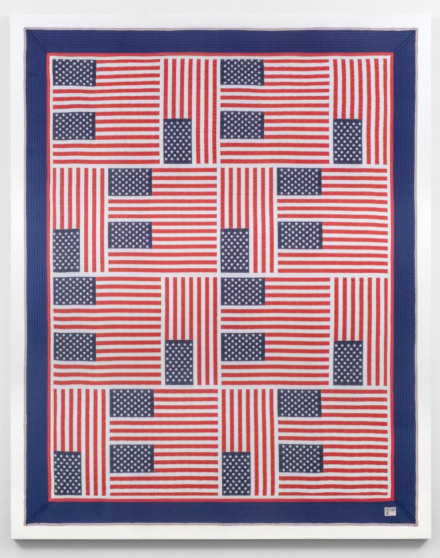 American Quilt 2018: Hilfiger Flags