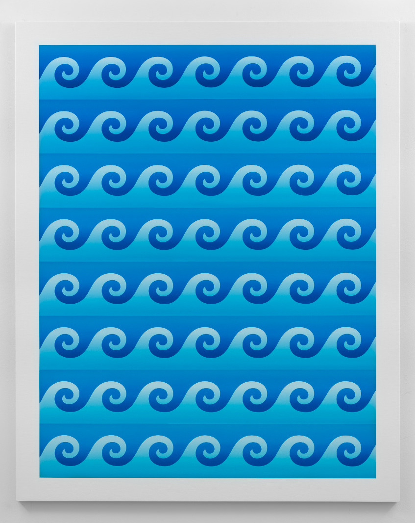 American Quilt 2018: Blue Wave