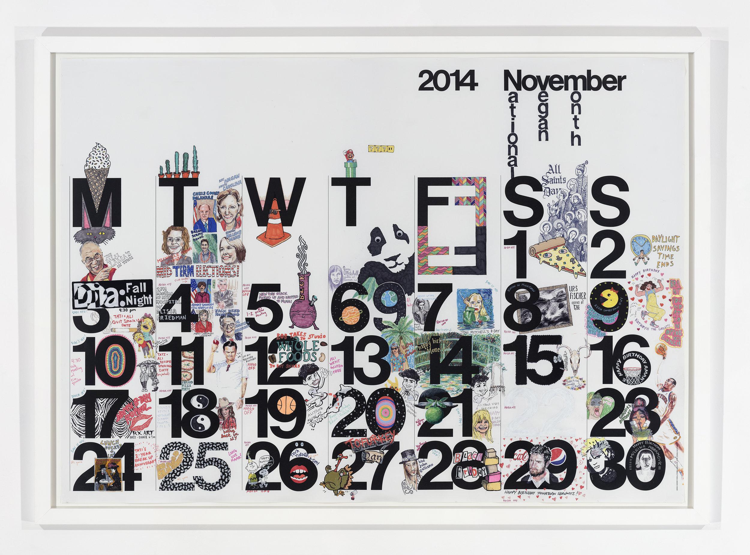 Studio Calendar November 2014