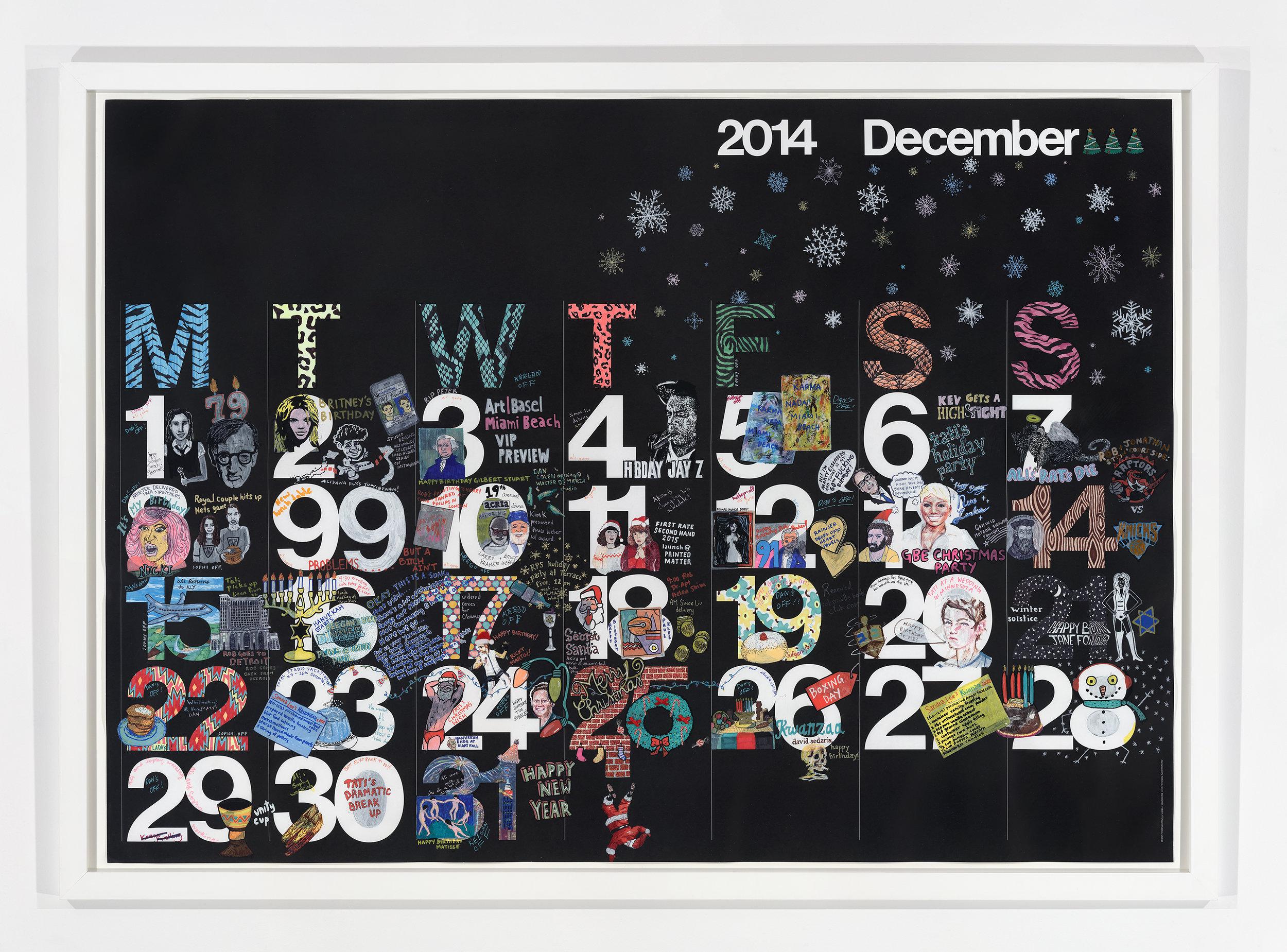 Studio Calendar December 2014