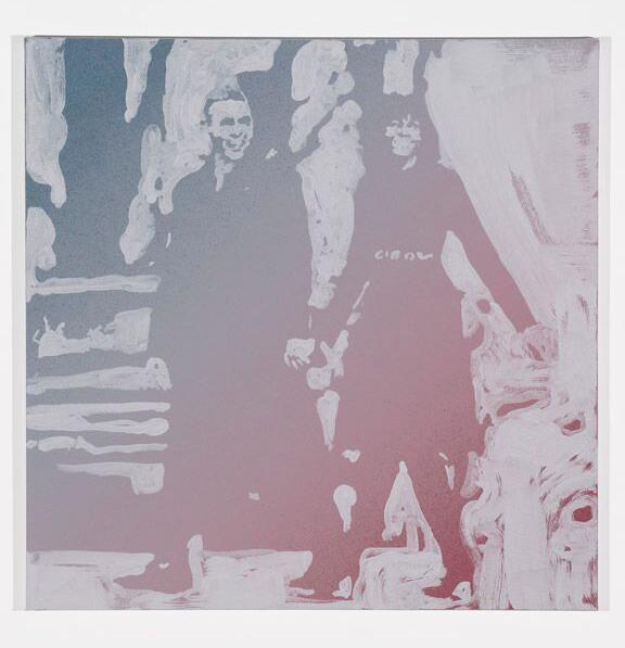 acrylic on canvas  24 x 24 inch (61 x 61 cm)