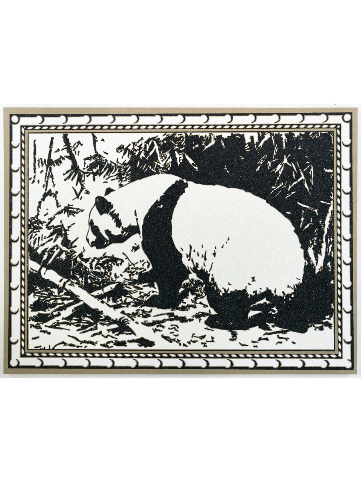 Lichtenstein Frame Panda